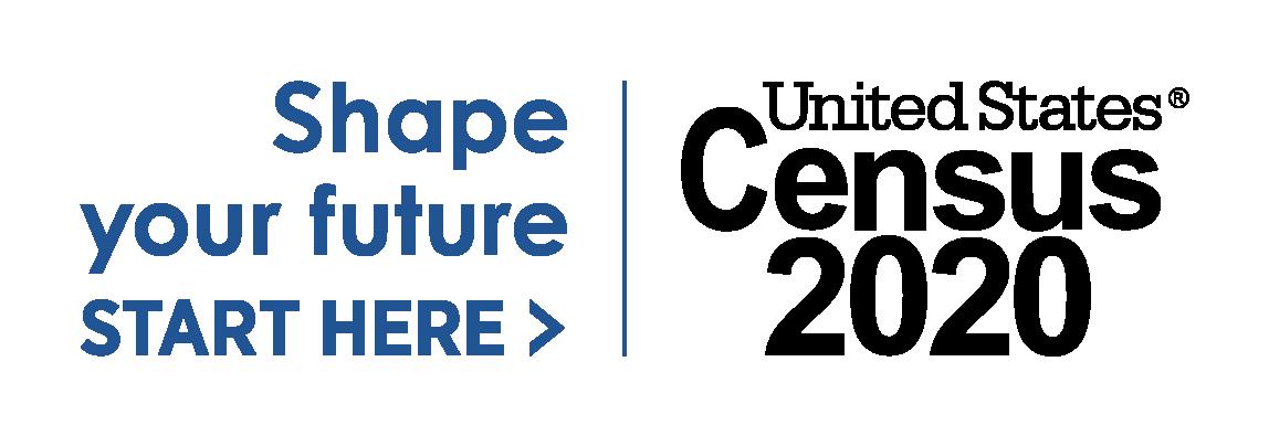 Shape Your Future - United States Census 2020 logo